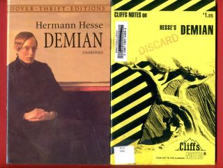 Demian by Hermann Hesse Cliff Notes Study Guide