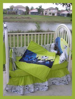new nightmare before christmas jack fabric crib bedding set