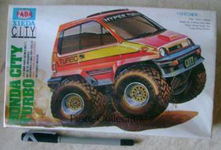 Fada Xieda Honda City Turbo 1 32 Mini 4WD Model Kit Motorized Tamiya