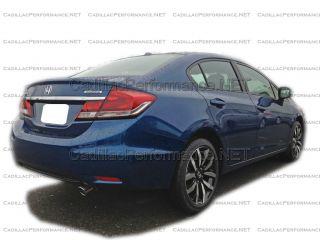 2013 honda civic sedan coupe polished exhaust tip single exhaust tip