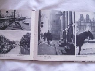 HOLLAND MOOI HOLLAND LA BELLE HOLLANDE HB ILLUSTRATED 1947