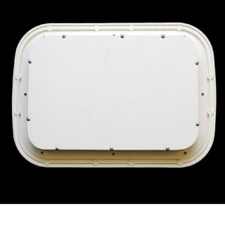 Jim Black Marine White Boat Deck Hatch Storage Box