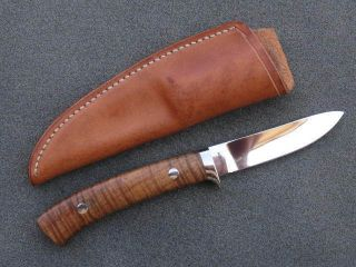 George Herron Model One Light Weight Hunter Custom Knives