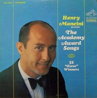 Henry Mancini Presents The Academy Award Songs 2LP Set