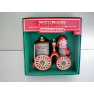 Hallmark Christmas Tree Ornament    Santas Fire Engine
