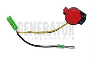 Honda GX200 GX240 GX340 GX390 Kill Switch Generator Water Pump 2 Wire