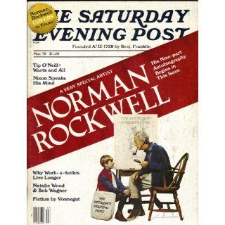 SATURDAY EVENING POST MAGAZINE 1979 NORMAN ROCKWELL AUTOBIOGRAPHY