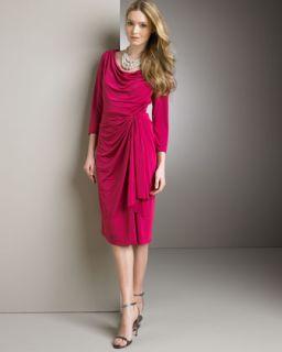 Tadashi Shoji Draped Jersey Dress