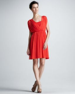 RED Valentino Off the Shoulder Dress