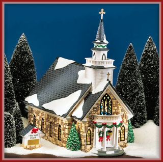 Holy Spirit Church NEW Department Dept. 56 Snow Village D56 SV