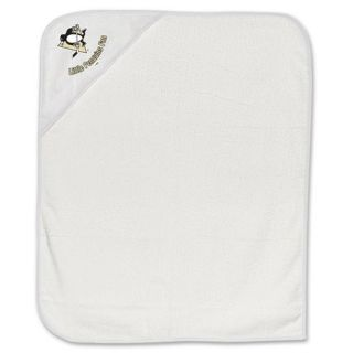 Features of Pittsburgh Penguins Hockey Infant Baby Hooded Bath Towel