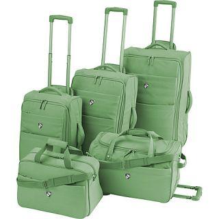 Heys USA Renovo 5 Piece Luggage Set Green