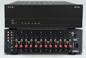 1235 Home Theater Direct 12 Channel Power Amplifier Home Audio