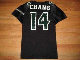 Timmy Chang Hawaii Warriors Rainbows Russell Athletic CFL Football