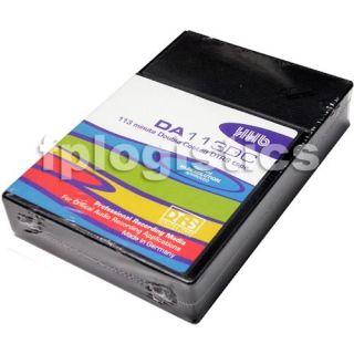 4X HHB DA113DC 113 Minute Double Coated DTRS Tape Da 113 DC 113DC New