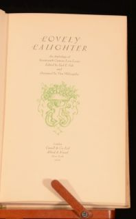 1932 Lovely Daughter Love Poems E Fish Colour Plates Scarce Limited