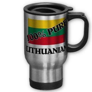 100 Percent LITHUANIAN Coffee Mug