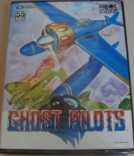 New Ghost Pilots Game UK Ver Neo Geo AES Home Console