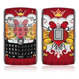 BlackBerry World 8800/8820/8830 Vinyl Decal Skin   Rose