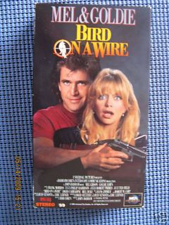 Bird on a Wire VHS 1990 Goldie Hawn Mel Gibson