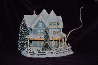 HAWTHORNE Christmas VILLAGE Thomas Kinkades~ Holiday Bed & Breakfast