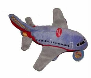 Southwest Airlines Soft Plush Airplane Toy with Sound