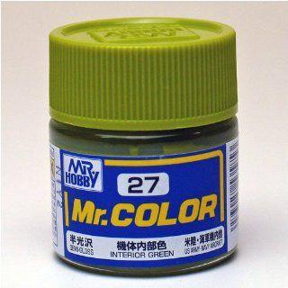 27 Gundam Mr. Color 27   Interior Green (Semi Gloss