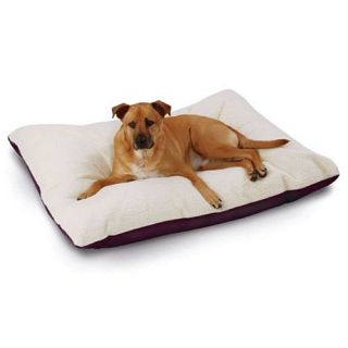 Hidden Valley Products Supersoft Rectangular Ultra Sherpa Dog Bed