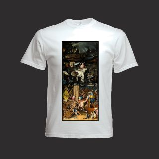 Hieronymus Bosch Garden of Earthly Delights Hell Part T Shirt El Bosco