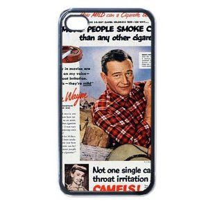 john wayne iphone case for iphone 4 and 4s black Cell