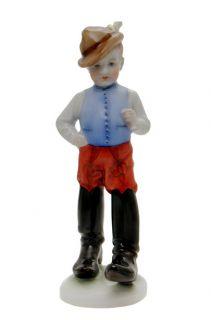 herend porcelain tom thumb boy figurine