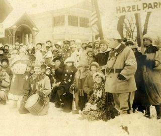 Hazel Park, St. Paul, MN, The Hazel Nuts, Winter Carnival about 1916