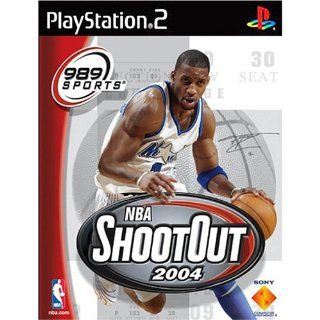 Sony   CE NBA Shootout 2004 PS2 ( 97318 ) Video Games