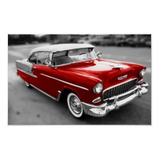1955 Chevrolet Bel Air Posters