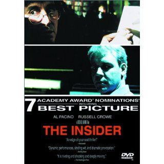 The Insider: Russell Crowe, Al Pacino, Christopher Plummer