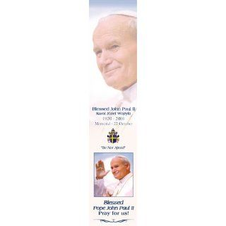 Blessed Pope John Paul II Bookmark with Holy Prayer Card
