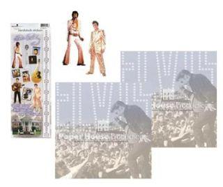 Paper House Productions Music ~ELVIS~12x12 Scrapbook Page Kit