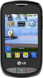 Tracfone LG 800G Touchscreen Cell Phone No Contract