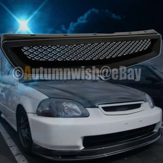 JDM Honda Civic ABS Plastic Honey Comb Front Hood Grill Grille