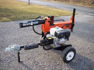 Echo Bear Cat Log Splitter 27 Ton Hor Ver Honda No Reserve