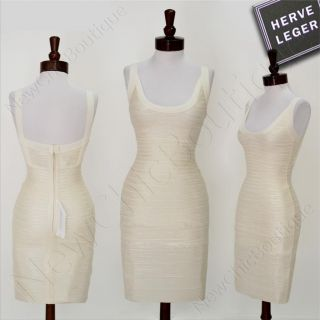 Herve Leger Ginny Bandage Dress Size XS $1590 Authentic Signature