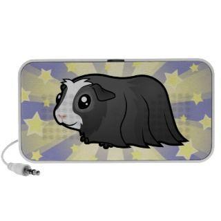 Guinea Pig Love (long hair) Notebook Speaker