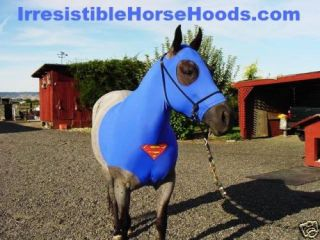 Superman Horse Hood Sleazy Tail Bag x L