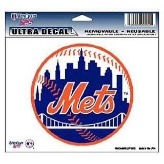 New York Mets Mlb Ultra Color 5X6 Decal Wincraft Sports