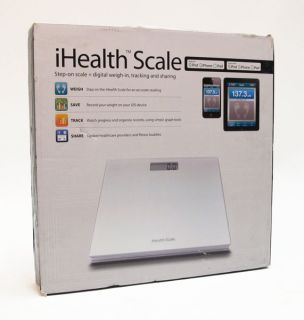 iHealth HS3 Wireless Bluetooth Scale for iPod iPhone iPad
