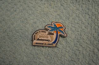 Vintage 2002 Grand Prix of Miami 20th Anniversary Hat Pin