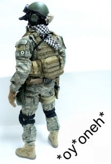 Custom US Army Oda Special Force Green Beret Figure