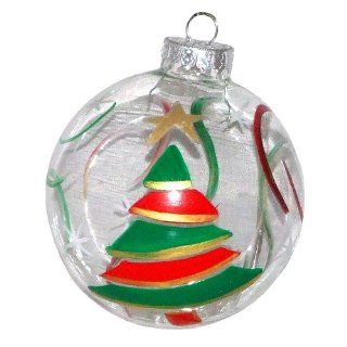 ArtisanStreets Whimsical Christmas Tree Ornament. Hand