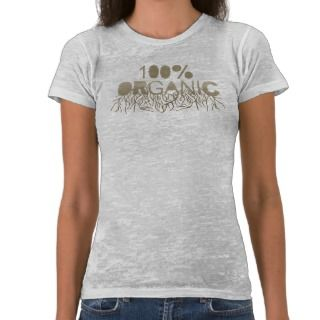 100% Organic T shirt / Earth Day T shirt