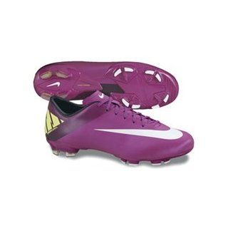 Nike Mercurial Victory II FG Soccer Cleats ( Red Plum/Volt